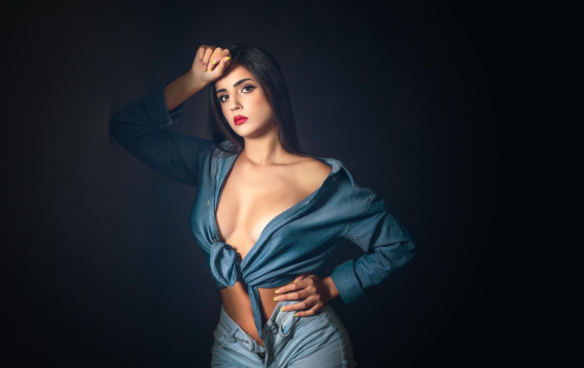 Fotografo Professionista Milano Ritratto modelle glamour studio fotografico
