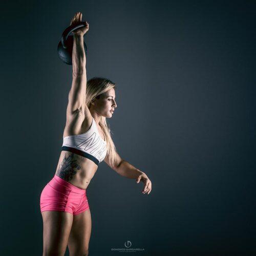 fotografo foto ritratti influencer fitness milano Antea Longo Crossfit