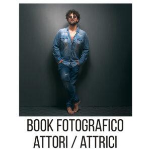 book fotografico per attori e attrici