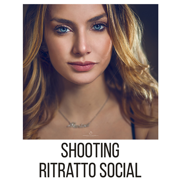 shooting ritratto minimal